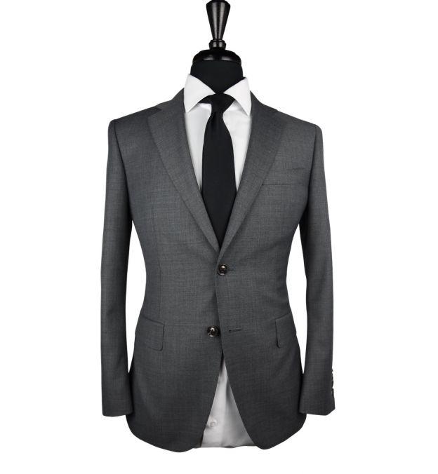 Dark Grey Wool Suit