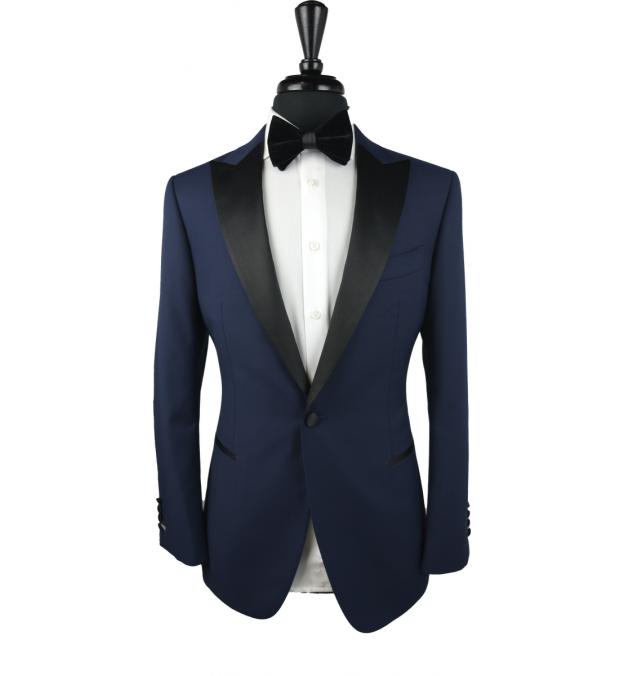 Navy Blue Celtic Wool Tuxedo