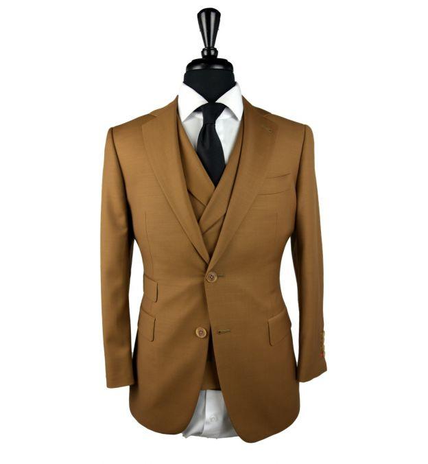Desert Sand Wool Suit