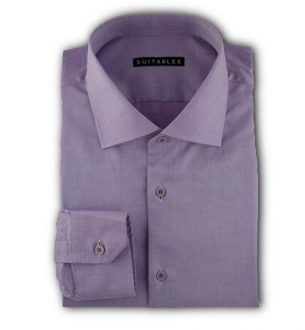 Lavender Pinpoint Oxford Dress Shirt