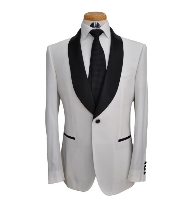 White Wool Tuxedo