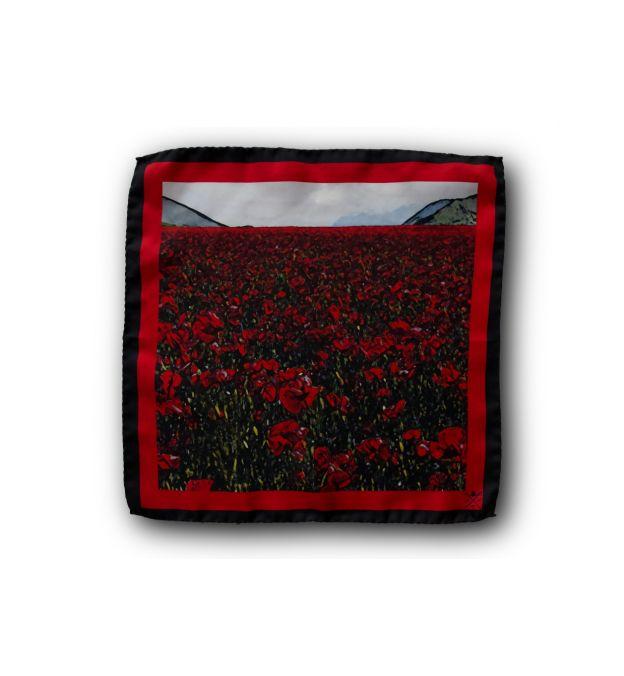 Flanders Field Pocket Square