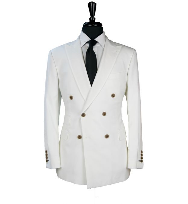 Ivory Wool Suit