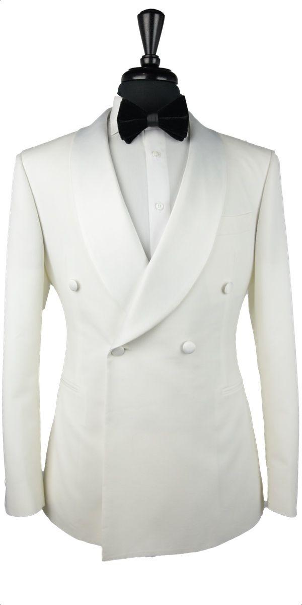 Ivory Wool Tuxedo