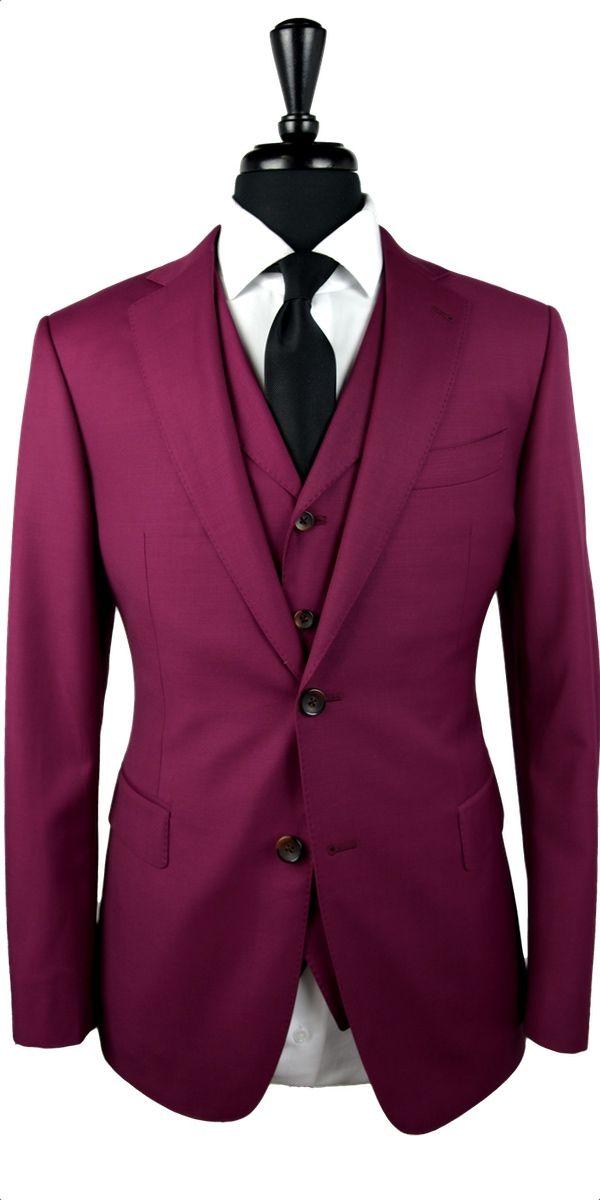 Ruby Wool Suit