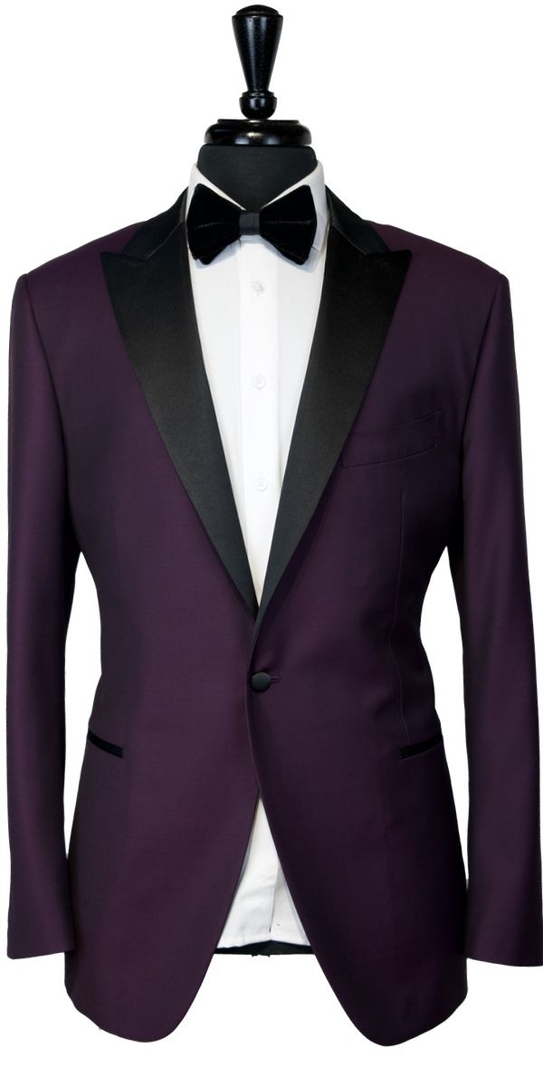 Raisin Wool Tuxedo