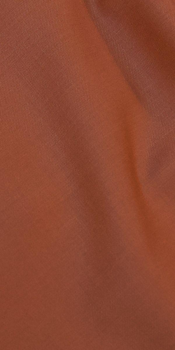 Orange Wool Suit
