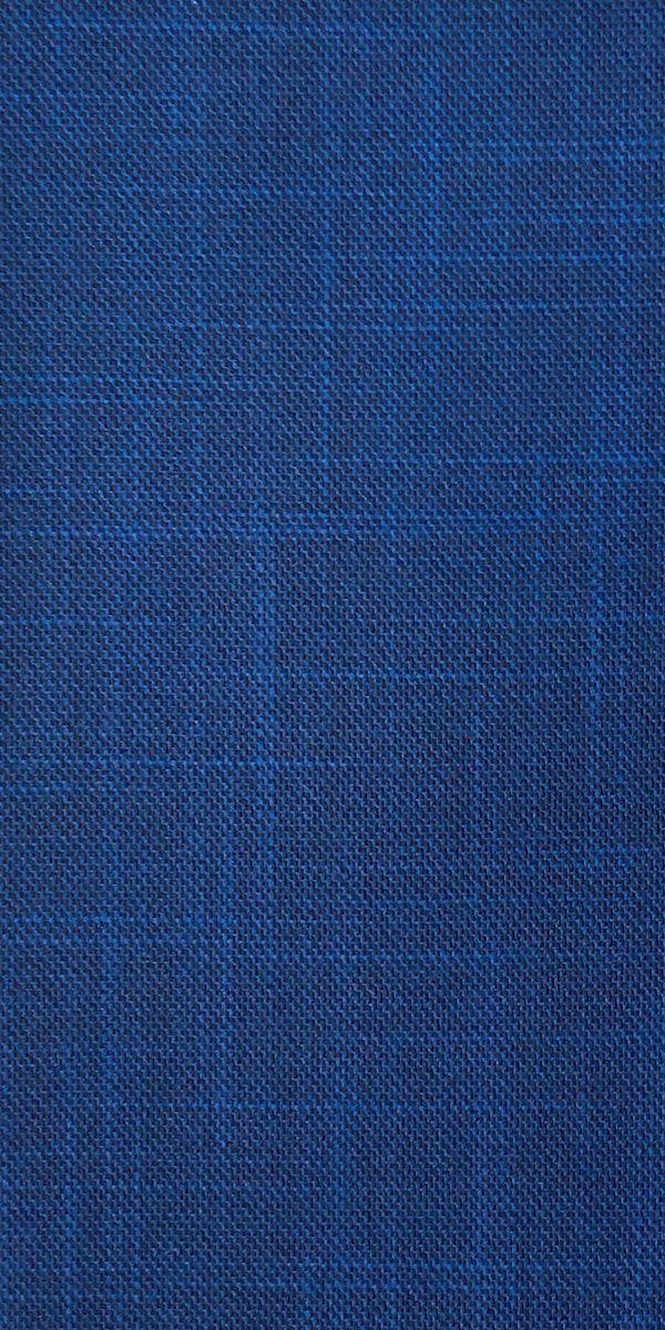 Cobalt Textured Wool Suit