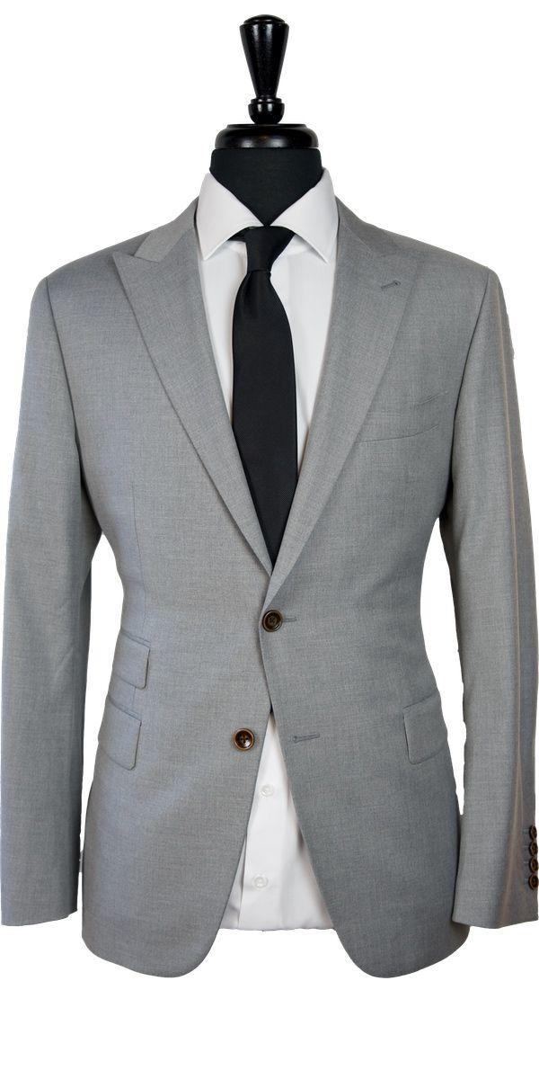 Light Gray Wool Suit