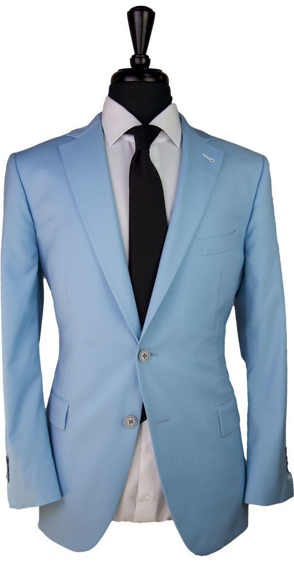 Powder Blue Wool Suit
