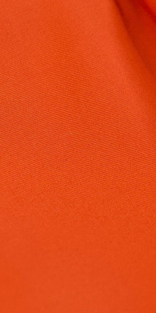 Blaze Orange Wool Suit
