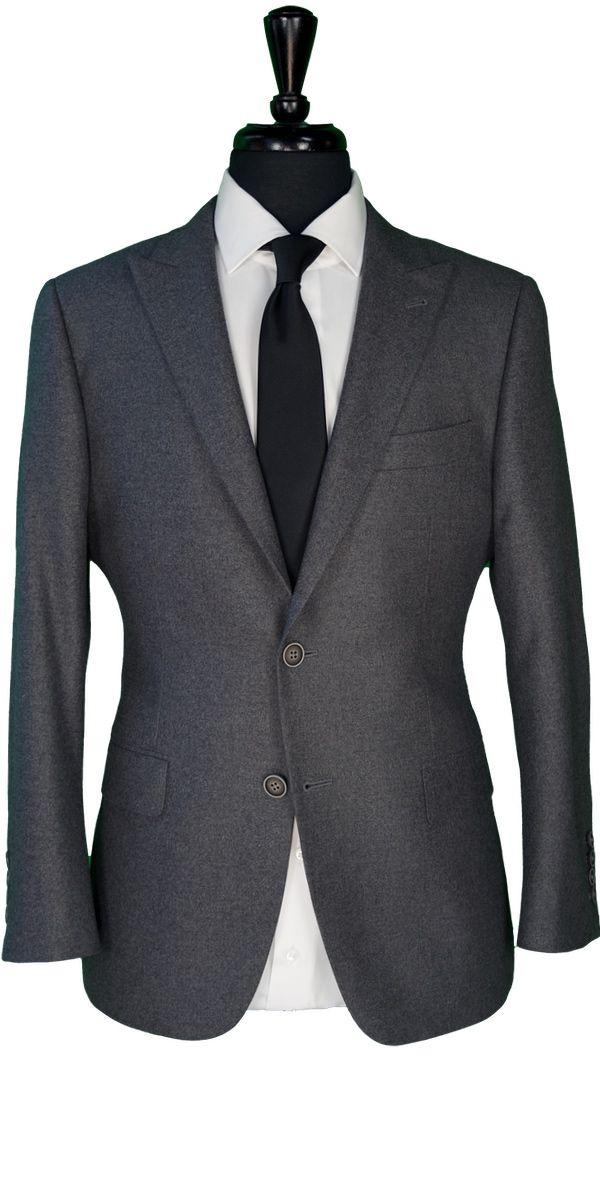 Grey Woolen Suit