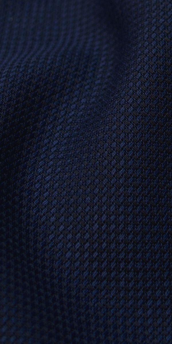 Blue Birdseye Wool Suit