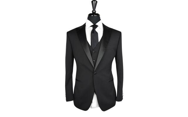 Black Twill Tuxedo