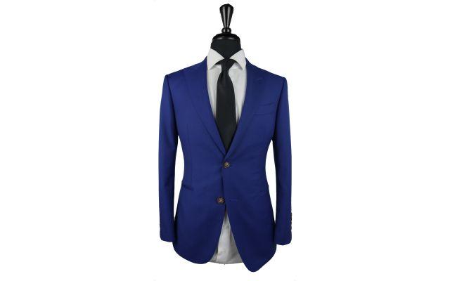 Royal Blue Wool Suit
