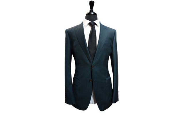 Emerald Green Wool Suit