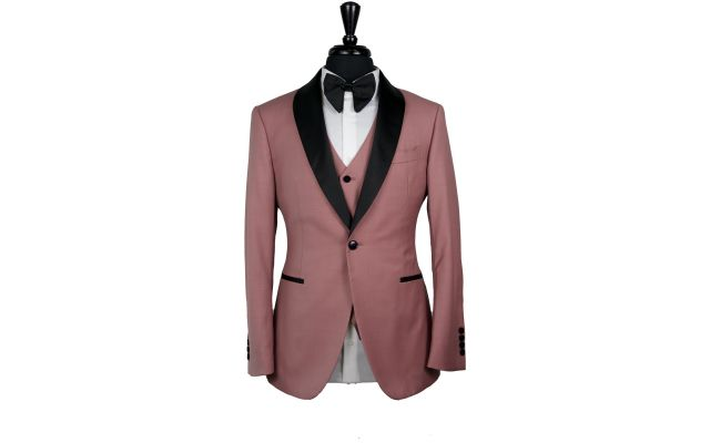 Flamingo Wool Tuxedo