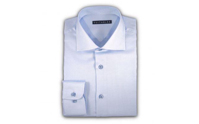 Light Blue Royal Oxford Dress Shirt