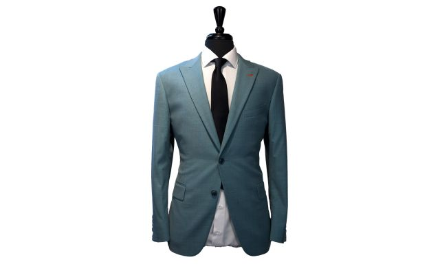 Mint Green Wool Suit