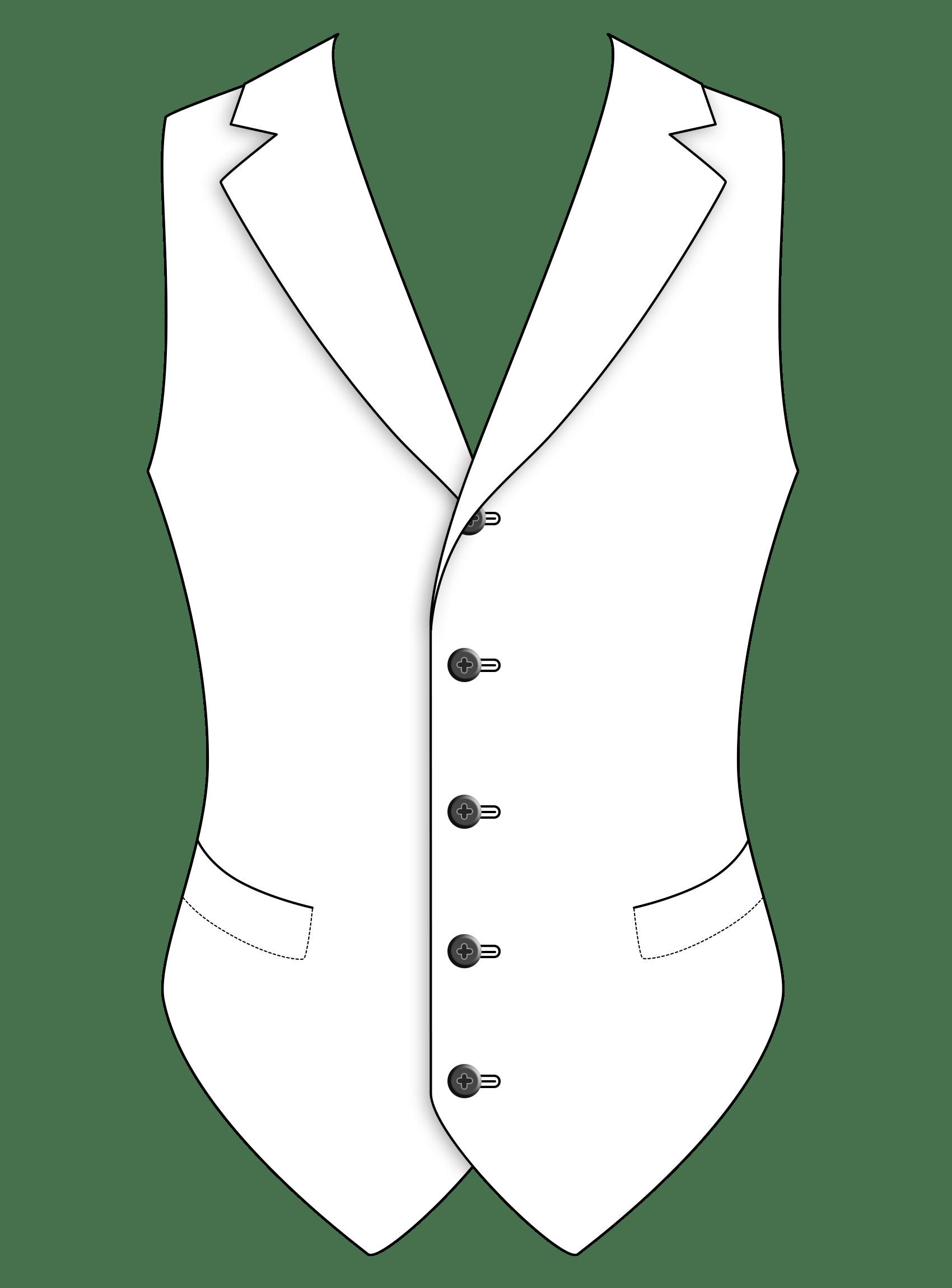 Five Button Notch Lapel