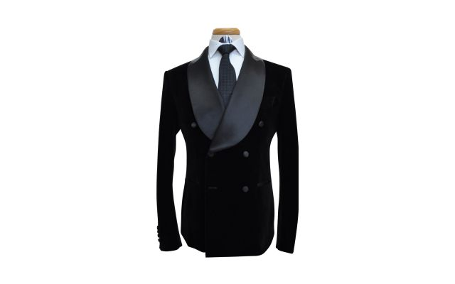 Black Velvet Custom Suit