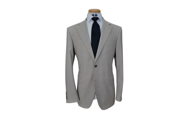 Camel Custom Wool Suit