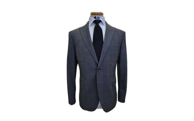 Prince of Wales Glencheck Custom Wool Suit