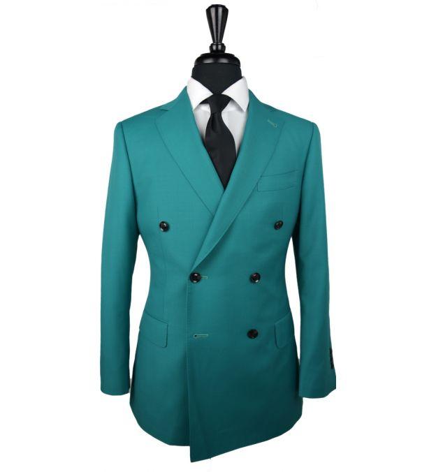 Aquamarine Wool Suit