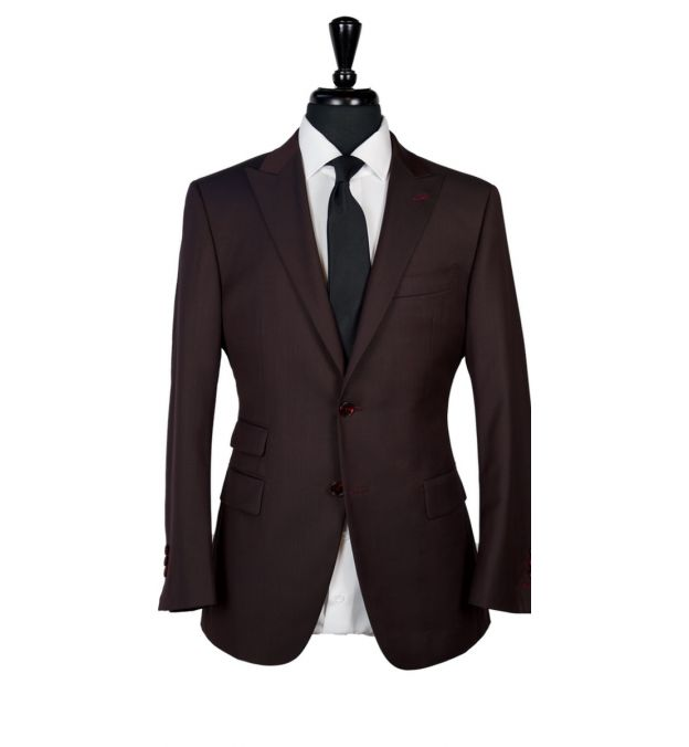 Mahogany Wool Suit