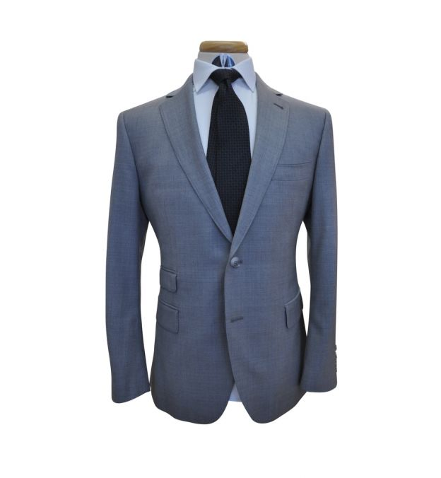 Classic Grey Wool Suit