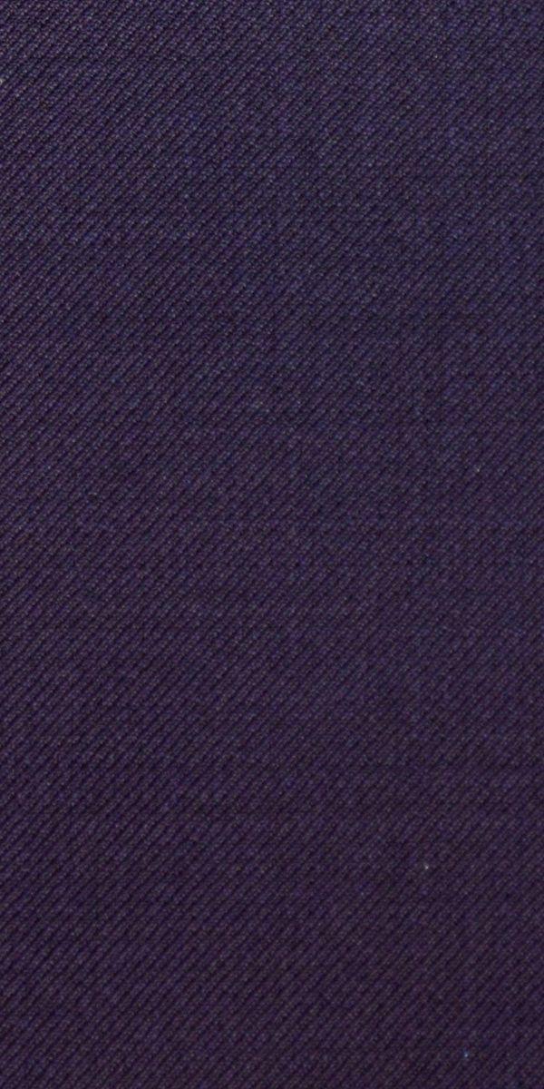 Eggplant Twill Wool Suit