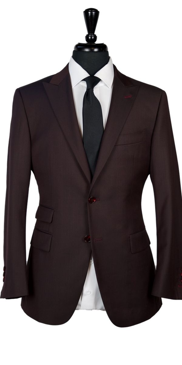 Mahogany Wool Suit