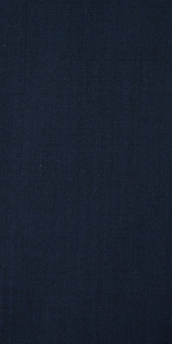 Space Blue Wool Suit