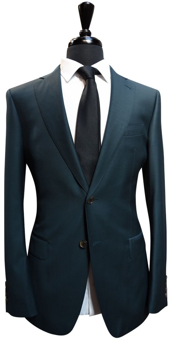 Emerald Green Wool Suit