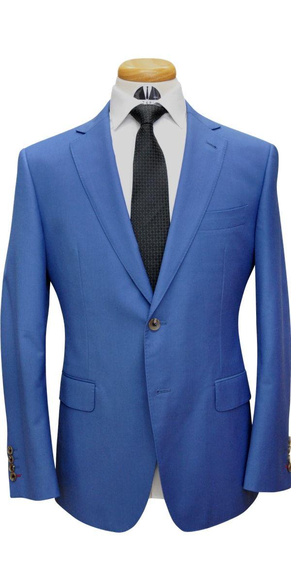 Lapis Blue Wool Suit