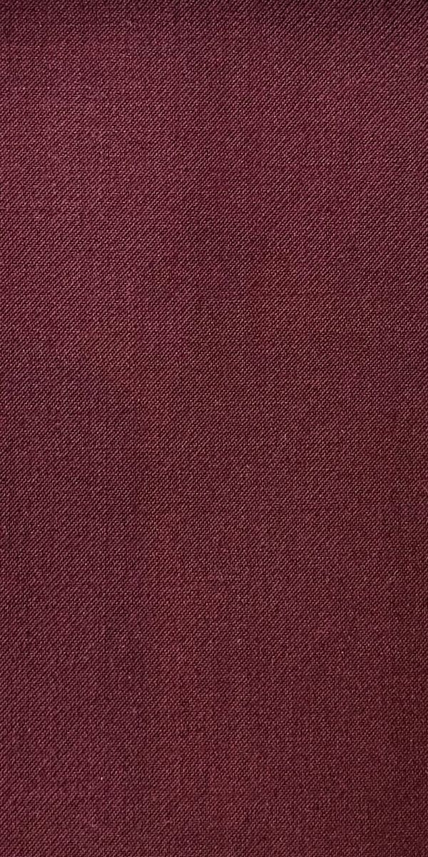 Classic Burgundy Wool Suit