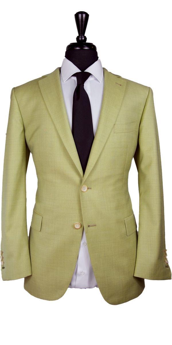 Mustard Wool Suit