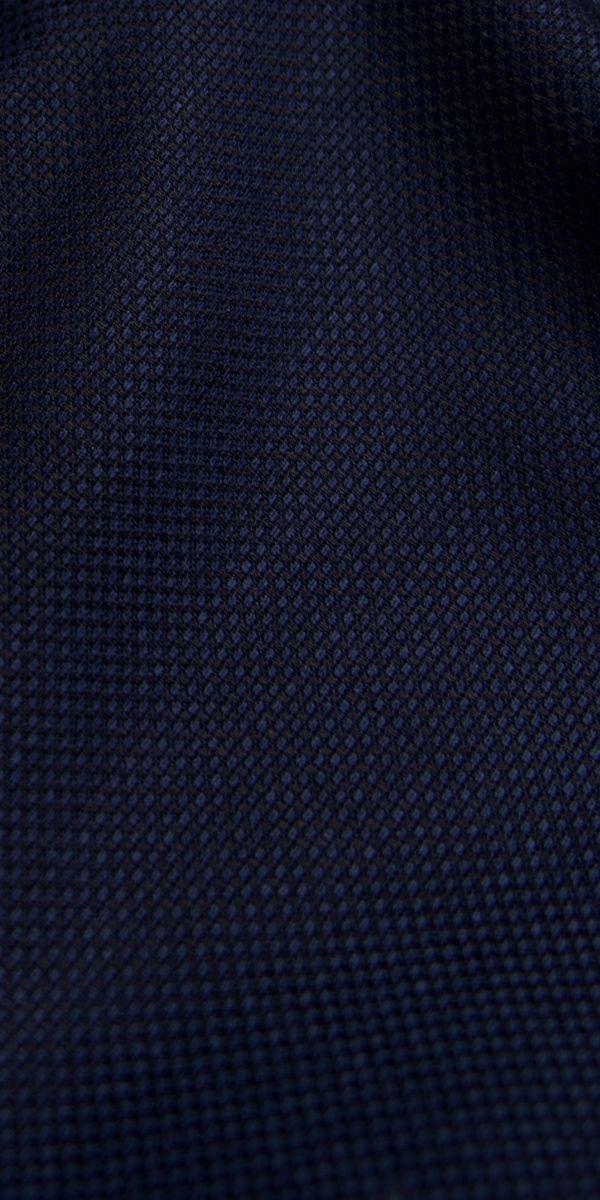 Blue Birdseye Peak Lapel Tuxedo