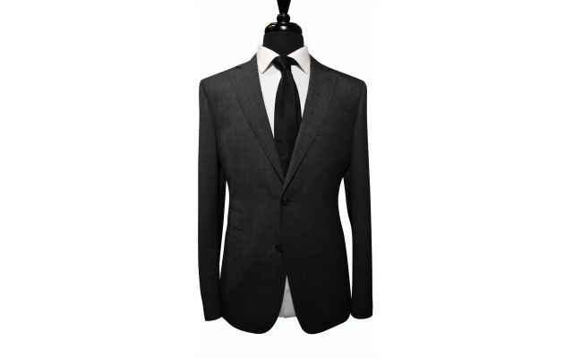Charcoal Rivington Wool Suit