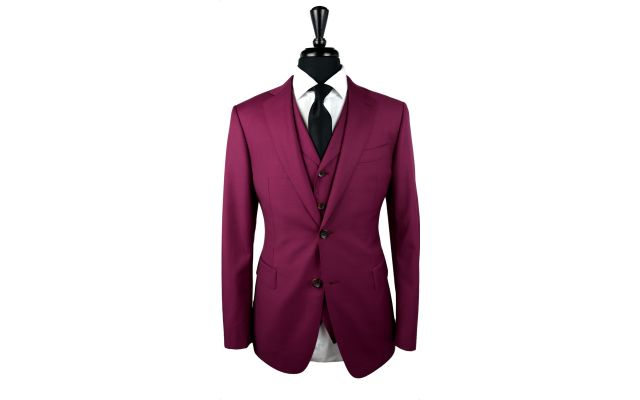 Ruby Wool Suit