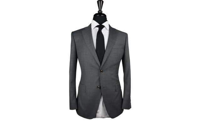 Dark Grey Wool Suit