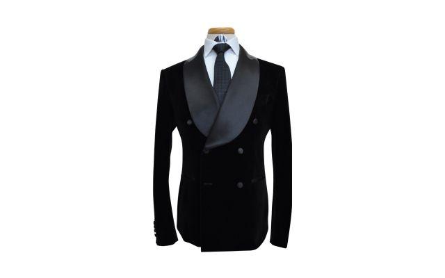 Black Velvet Custom Suit