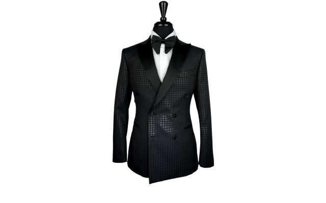 Black Classic Jacquard Tuxedo