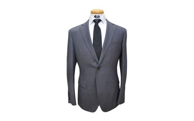 Dark Grey Custom Wool Suit