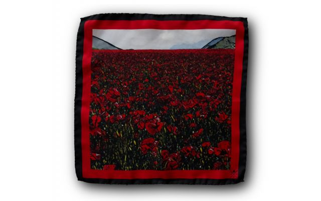 Flanders Field Pocket Square