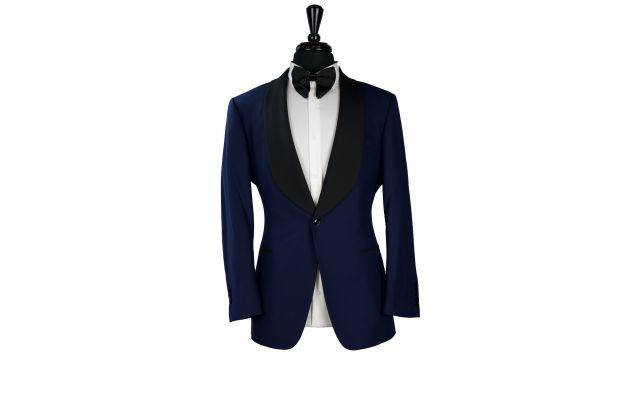 Blue Dobby Tuxedo