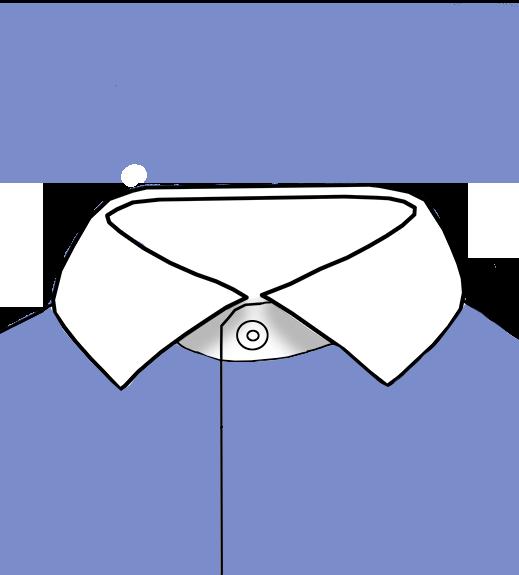 Contrasting Collar