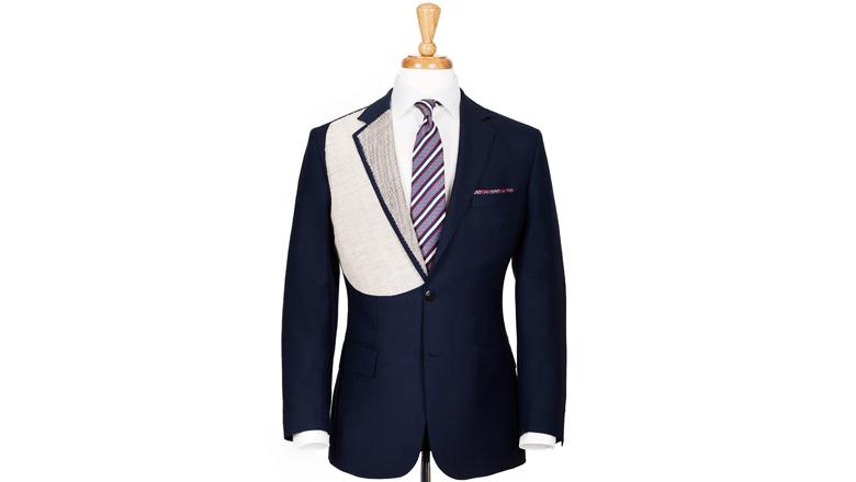 Half canvas suit