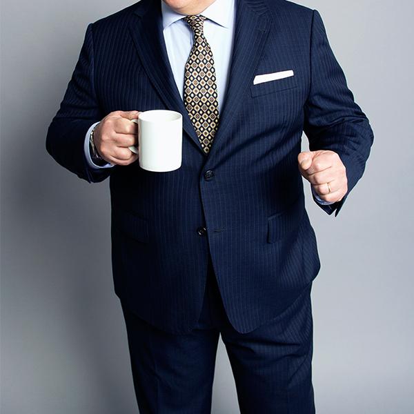 Suit for fat man